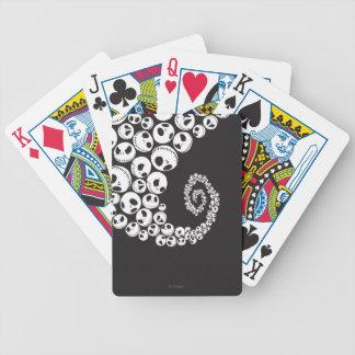 Jack Skellington | Skull Swirl Bicycle Playing Cards