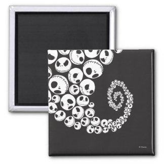 Jack Skellington | Skull Swirl Magnet