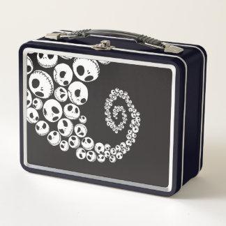 Jack Skellington | Skull Swirl Metal Lunch Box