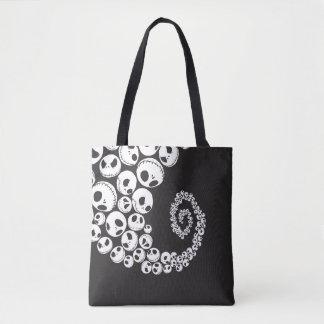 Jack Skellington | Skull Swirl Tote Bag