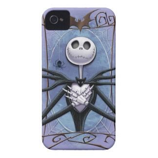 Jack Skellington | Spider Web Frame Case-Mate iPhone 4 Case