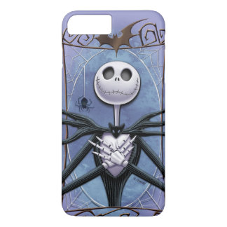Jack Skellington | Spider Web Frame iPhone 8 Plus/7 Plus Case