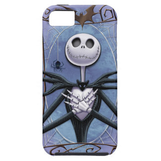 Jack Skellington | Spider Web Frame iPhone SE/5/5s Case