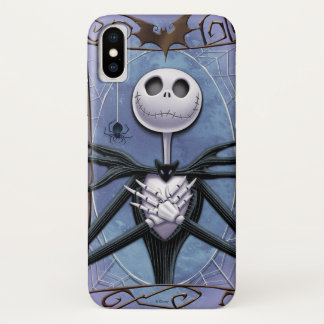 Jack Skellington | Spider Web Frame iPhone X Case