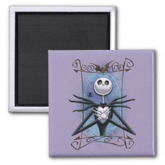 Jack Skellington   Spider Web Frame Magnet