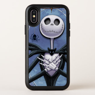 Jack Skellington | Spider Web Frame OtterBox Symmetry iPhone X Case
