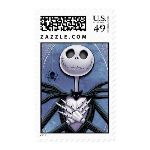 Jack Skellington | Spider Web Frame Postage