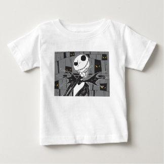 Jack Skellington | Spooky Eye Background Baby T-Shirt
