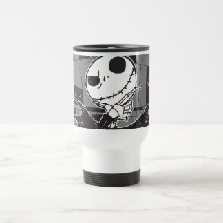 Jack Skellington | Spooky Eye Background Travel Mug
