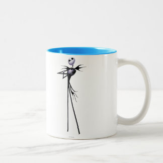 Jack Skellington | Standing Two-Tone Coffee Mug