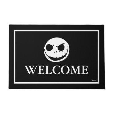 Disney Themed Jack Skellington - Welcome Doormat
