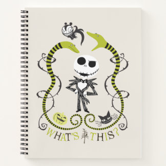 Jack Skellington   What's This? Notebook