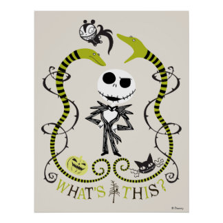 Jack Skellington | What's This? Poster