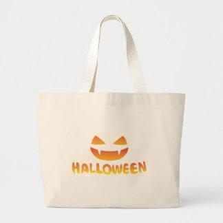 jack smile Halloween Jumbo Tote Bag