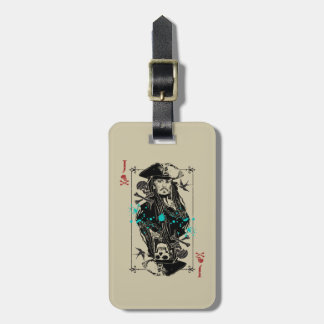 Jack Sparrow - A Wanted Man Luggage Tag