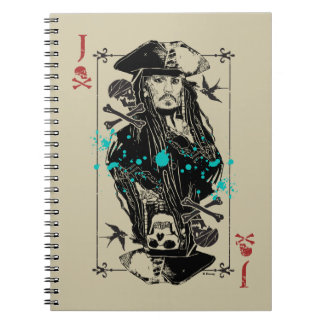 Jack Sparrow - A Wanted Man Notebook