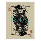 Jack Sparrow - A Wanted Man Postcard