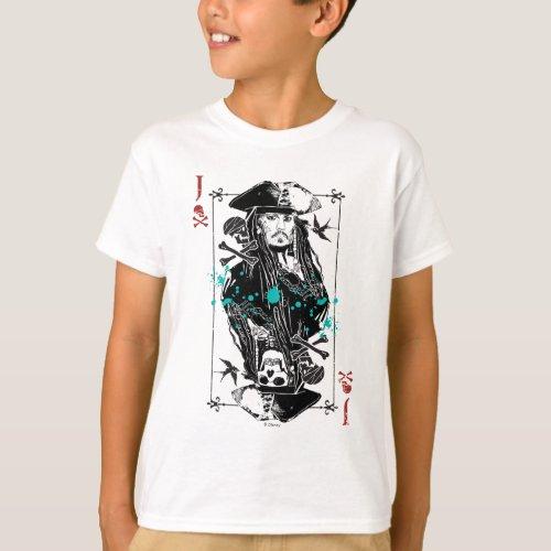 Jack Sparrow _ A Wanted Man T_Shirt