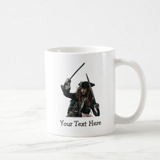 Jack Sparrow Bust Classic White Coffee Mug