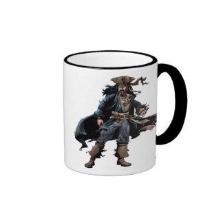 Jack Sparrow Concept Art Ringer Coffee Mug