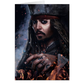 Jack Sparrow - Legendary Pirate Card