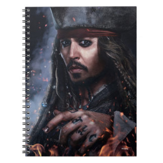 Jack Sparrow - Legendary Pirate Notebook