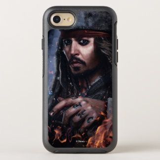 Jack Sparrow - Legendary Pirate OtterBox Symmetry iPhone 7 Case