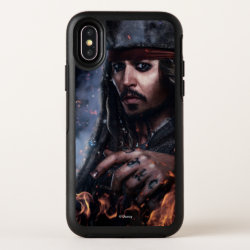 Jack Sparrow - Legendary Pirate OtterBox Symmetry iPhone X Case