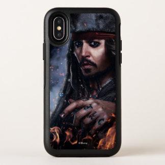 Jack Sparrow - Legendary Pirate OtterBox Symmetry iPhone X Case