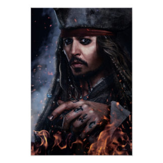 Jack Sparrow - Legendary Pirate Poster