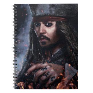 Jack Sparrow - Legendary Pirate Spiral Notebook