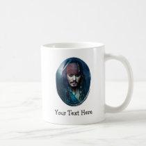 Jack Sparrow Portrait Coffee Mug