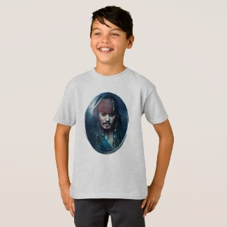 Jack Sparrow Portrait T-Shirt