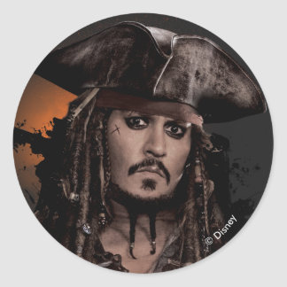 Jack Sparrow - Rogue Classic Round Sticker