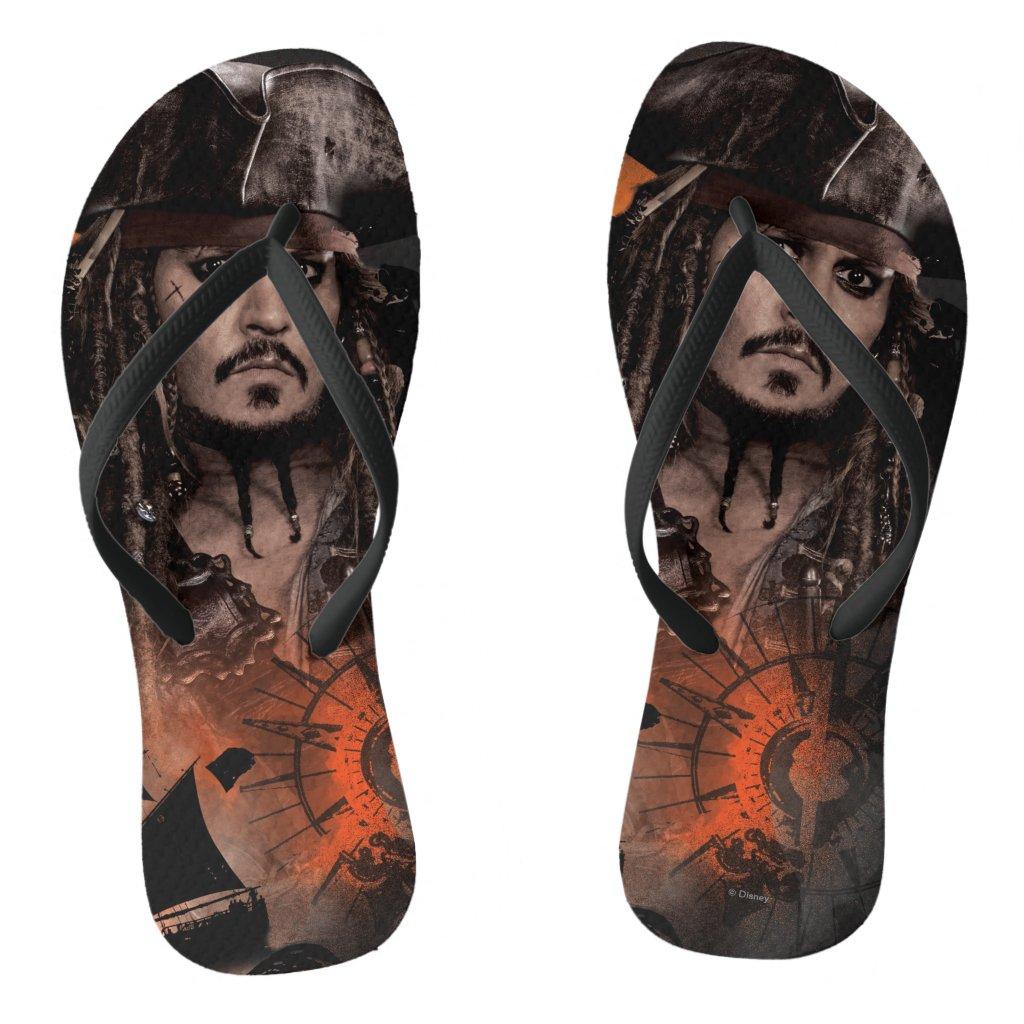 Jack Sparrow - Rogue Flip Flops