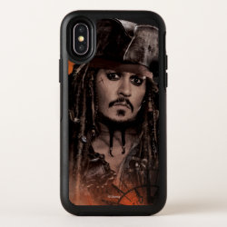 OtterBox Apple iPhone X Symmetry Case with Descendants Lonnie Portrait design