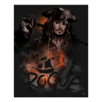 Jack Sparrow - Rogue Poster