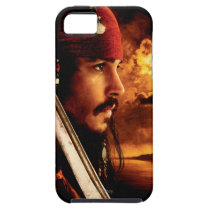 Jack Sparrow Side Face Shot iPhone SE/5/5s Case