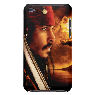 Jack Sparrow Side Face Shot iPod Touch Case-Mate Case