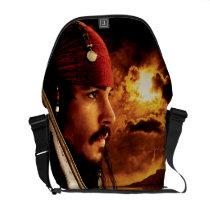 Jack Sparrow Side Face Shot Messenger Bag