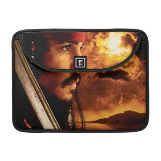 Jack Sparrow Side Face Shot Sleeve For MacBook Pro