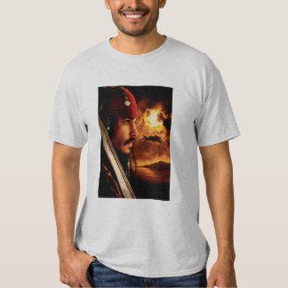 Jack Sparrow Side Face Shot T Shirt
