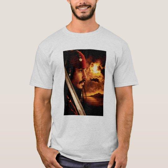Jack Sparrow Side Face Shot T-Shirt