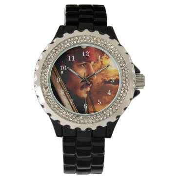 Disney Themed Jack Sparrow Side Face Shot Watch