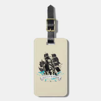 Jack Sparrow - Trickster of the Caribbean Luggage Tag