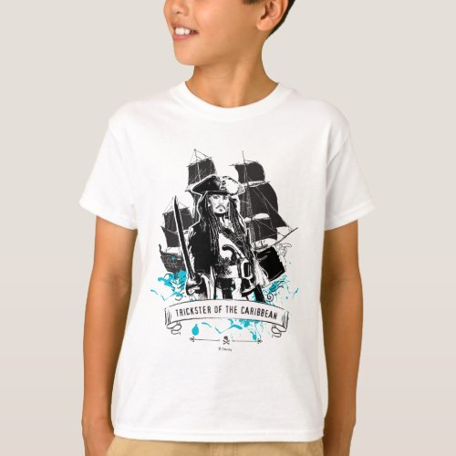Jack Sparrow _ Trickster of the Caribbean T_Shirt
