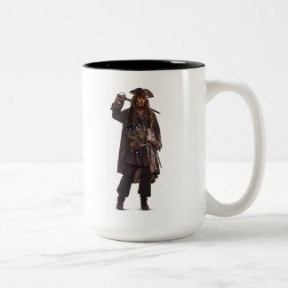 Jack Sparrow - Uncatchable Two-Tone Coffee Mug