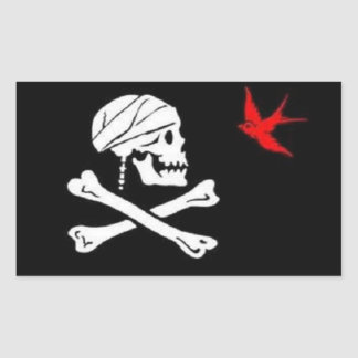 Jack Sparrow's Pirate Flag Sticker