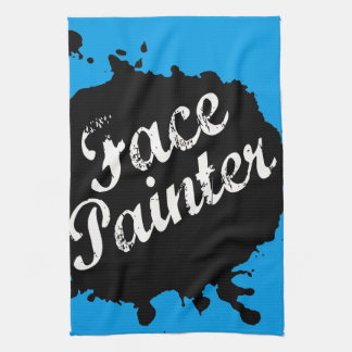 Jack Splat Blue Kitchen Towel