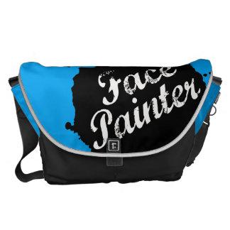 Jack Splat Blue Messenger Bag